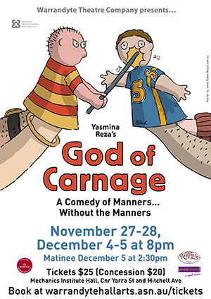 Theatre Posters for God of Carnage