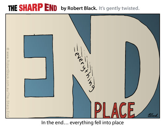 Caption: In the end... everything fell into place